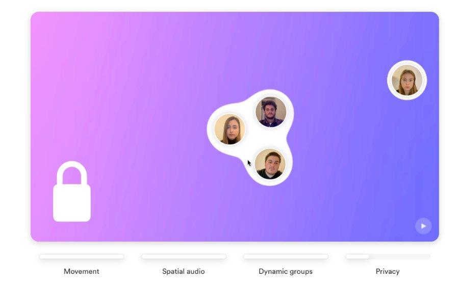SaySome Videokonferenz-Tool für Networking