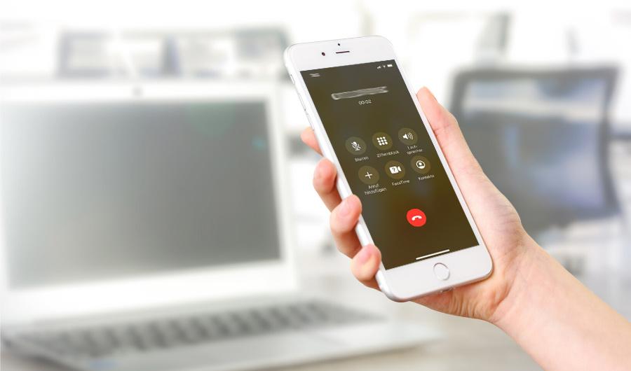 Telefonkonferenzen auf dem Smartphone