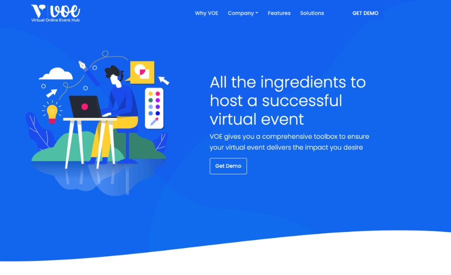 VOE – virtual online event