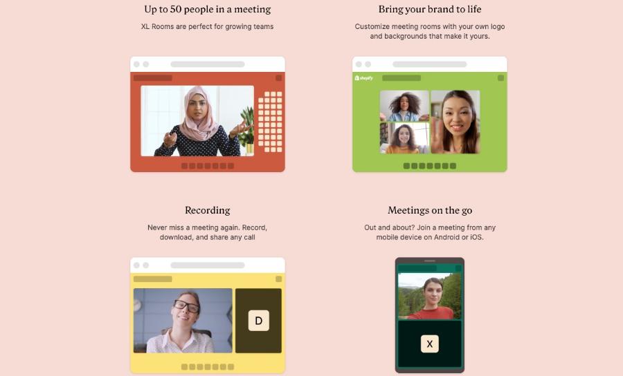 Whereby: für integrierte Online-Sessions in deinen virtuellen Events