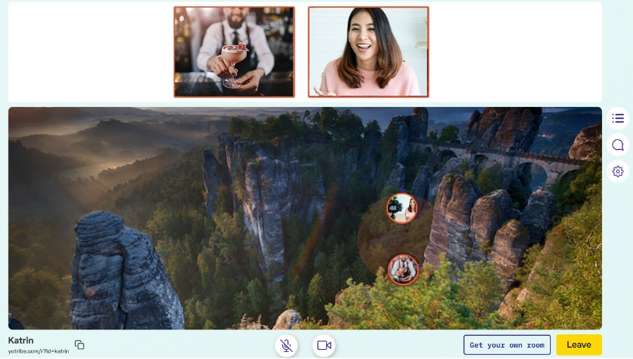 Yotribe | Videokonferenz-Tool für Networking