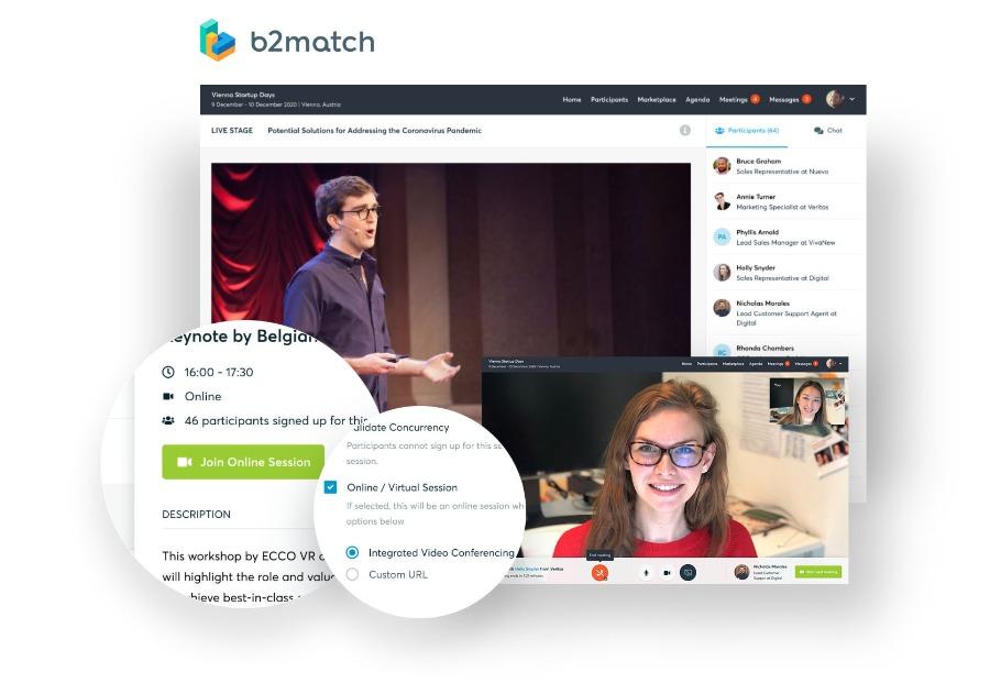 b2match: Plattform für dein virtuelles Event