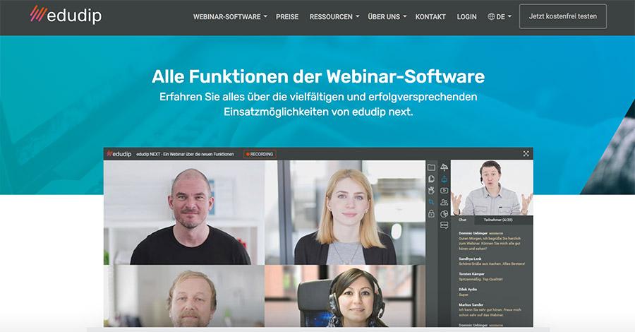 edudip next | Videokonferenzen und Webinare aus Deutschland