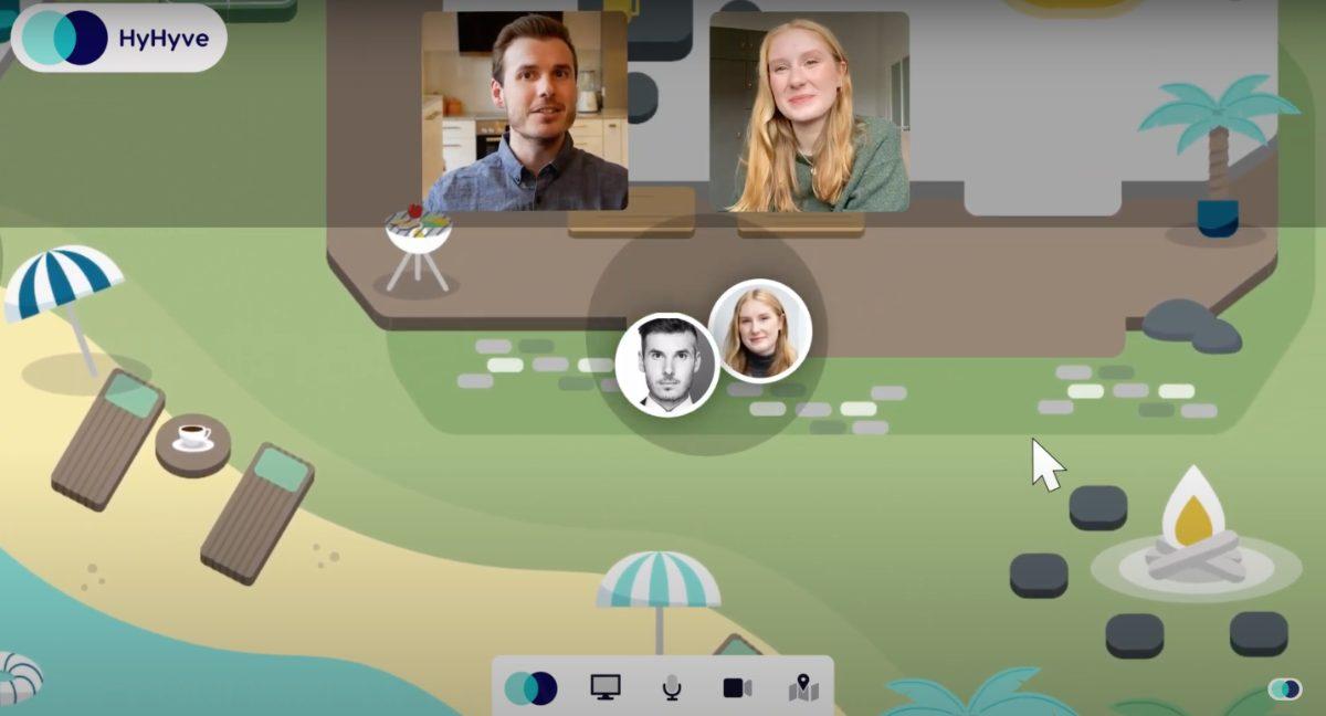 HyHyve - kostenloses Videokonferenz-Tool