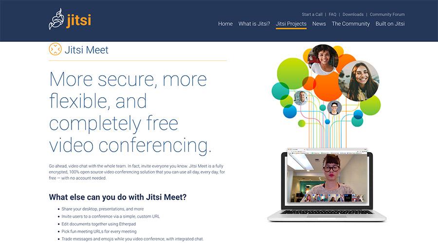 jisti Meet | kostenfreie Videocalls