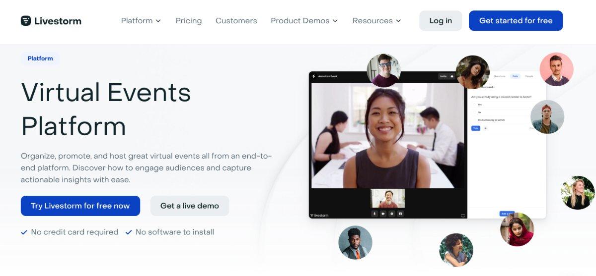 Livestorm - Videokonferenz-Tool oder Event-Plattform