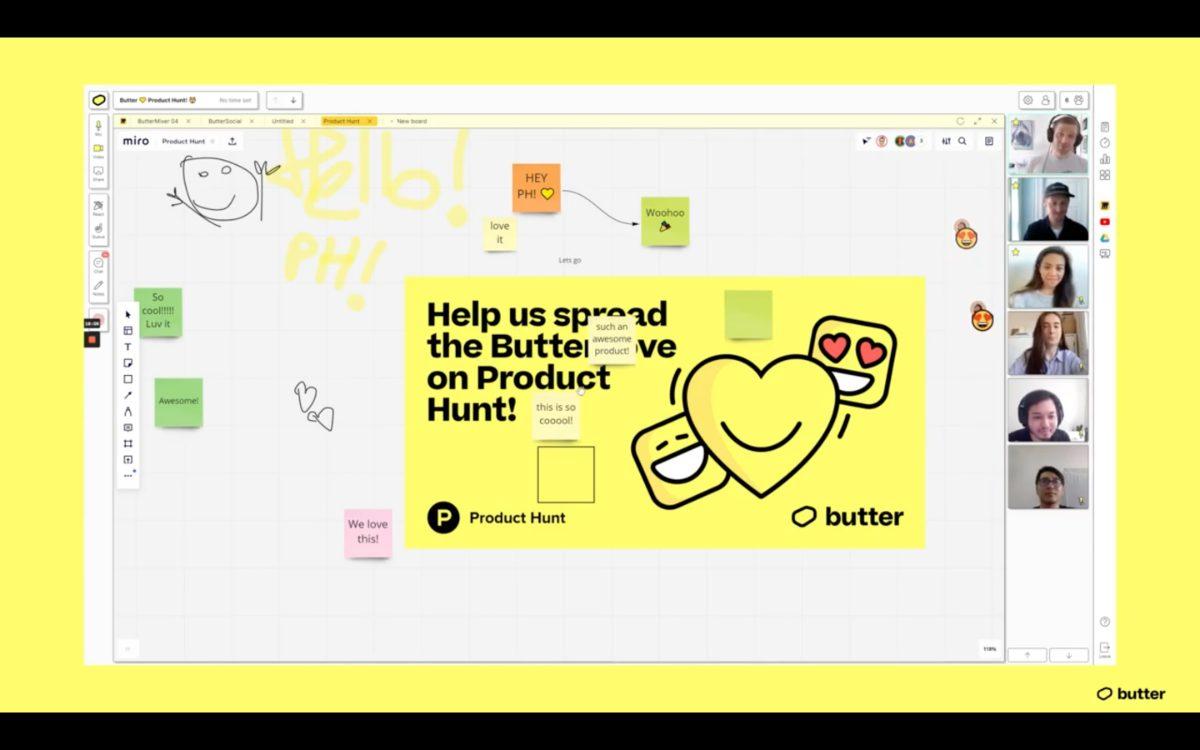 Videokonferenz-Tool Butter.us