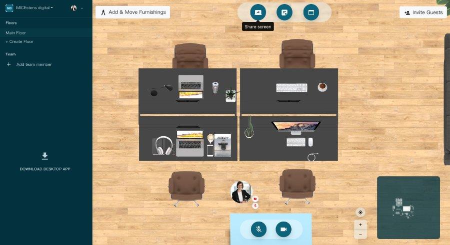 virtualoffice: Videokonferenz-Tool