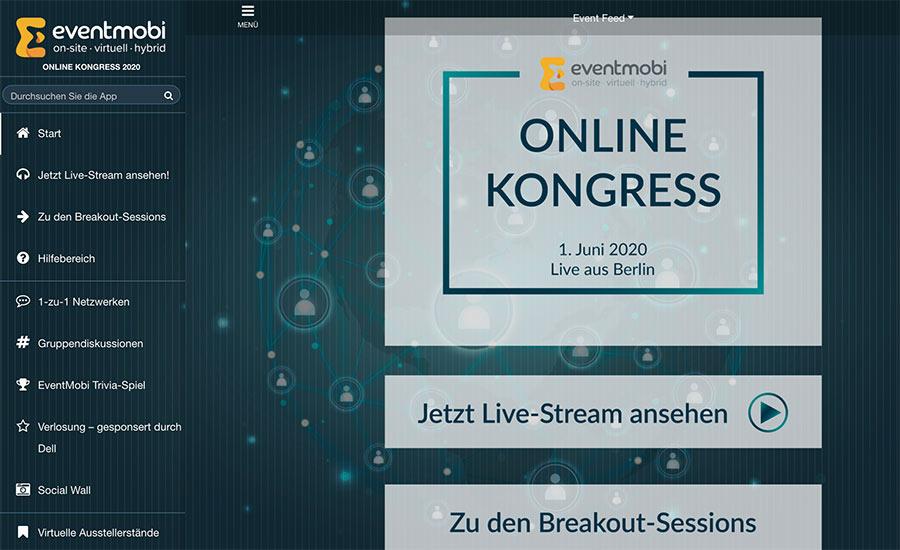 virtuelle und hybride Event-Services von EventMobi