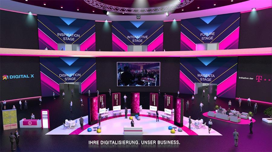 Corporate-Kunden wie die Telekom führen über meetyoo auch hybride Events durch