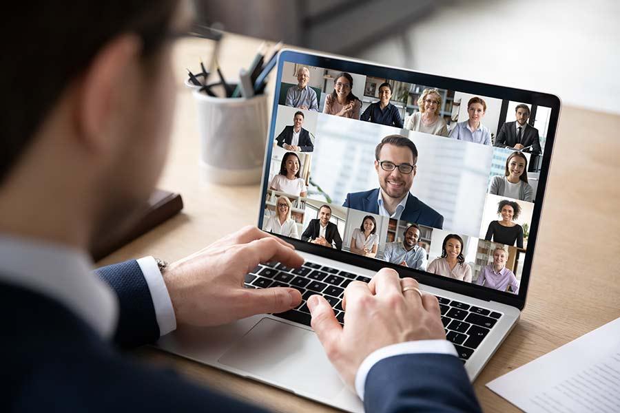 Eine digitale Konferenz oder Messe braucht Networking