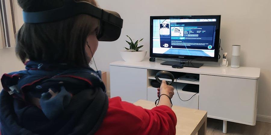 virtual MeetUp – einloggen auf engagevr.io