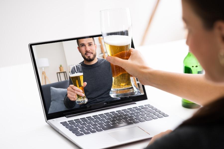 Biertasting oder Weintasting als virtuelles Rahmenprogramm