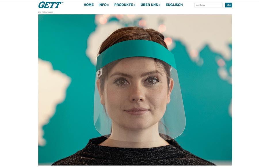 Gesichtsschutz von GETTSafe