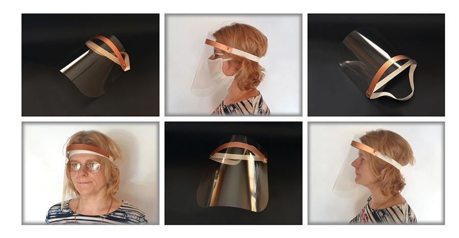 transparenter Gesichtsschutz von Producentopakowan