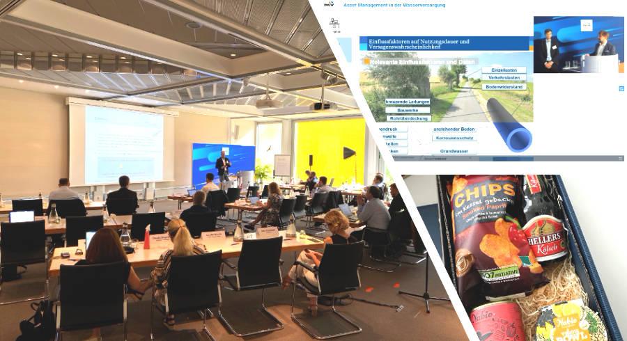 Hybrid-Event Asset Management – Konferenzraum, Onlineplattform und Überraschungsbox