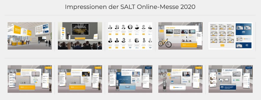 Erfahrungsbericht virtuelle Messe | SALT Solutions