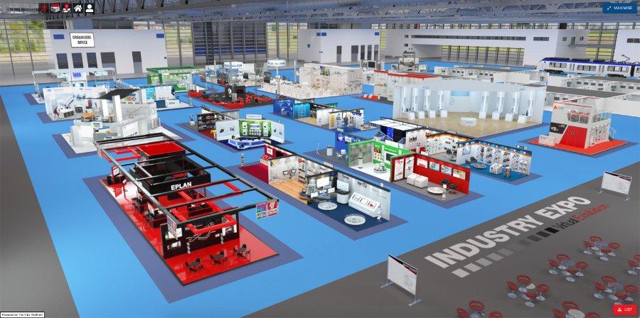 Industry Expo | virtuelle Messe – Erfahrungsbericht