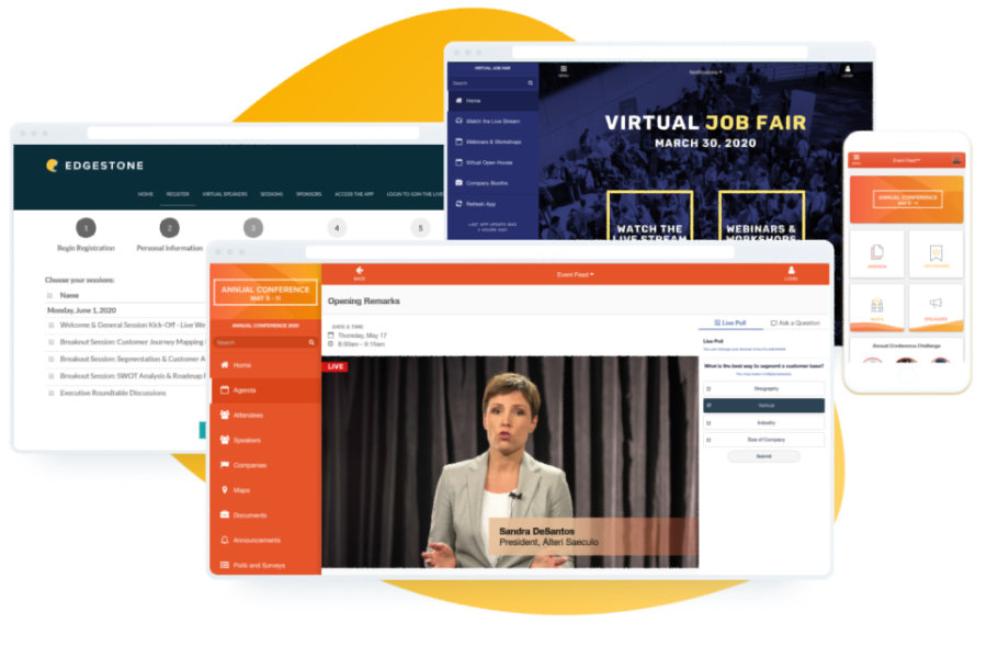Virtuelles Eventportal von EventMobi >>> Web-Seminar
