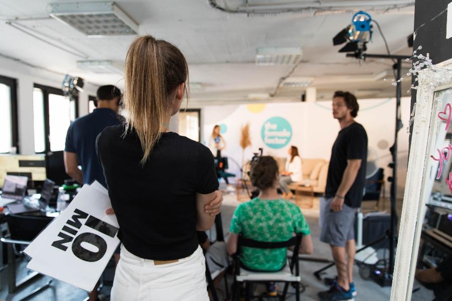 limitless mentoring conference: Produktion vor Ort
