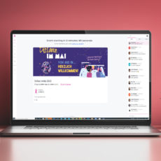 Online-Events und OnlinePartyBox mit KahnEvents und Hopin