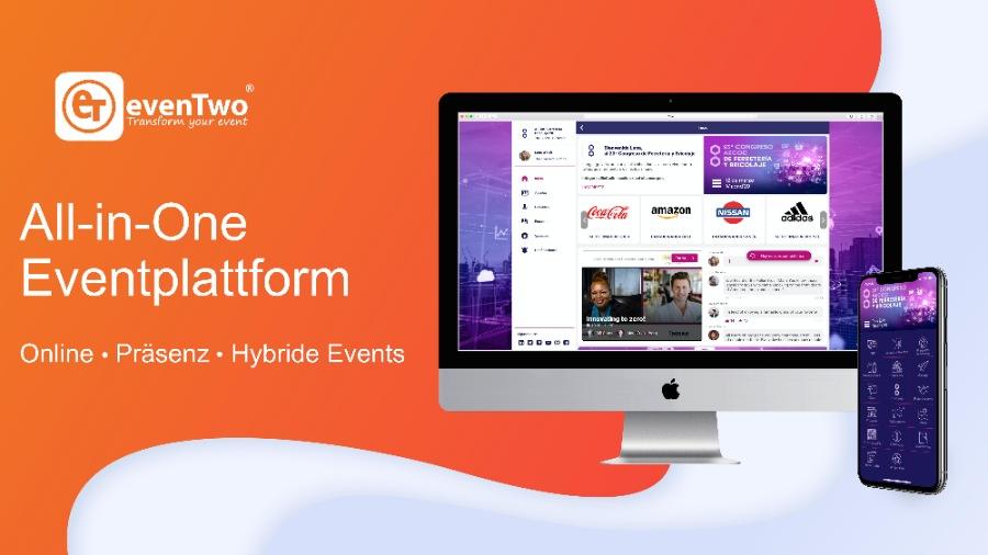 evenTwo: Event-Plattform für virtuelle, hybride und Präsenz-Events