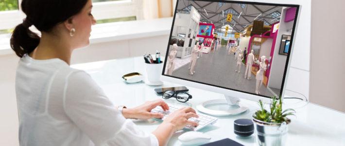 virtuelle Messestände und Messehallen für Messeveranstalter