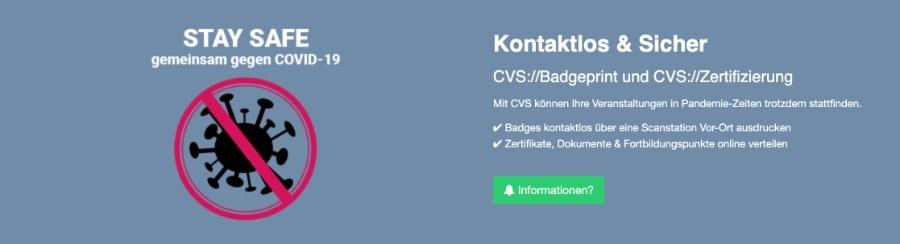 CVS Badgeprint und Zertifizierung