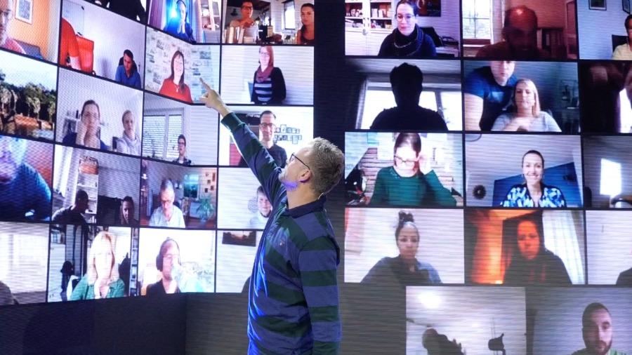 Die Kunst dein Ding zu machen | online Event mit sichtbaren Teilnehmern