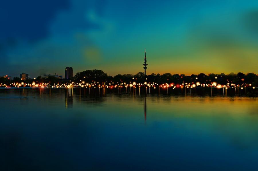 Eine App ermöglicht das Event 21 Million Lights