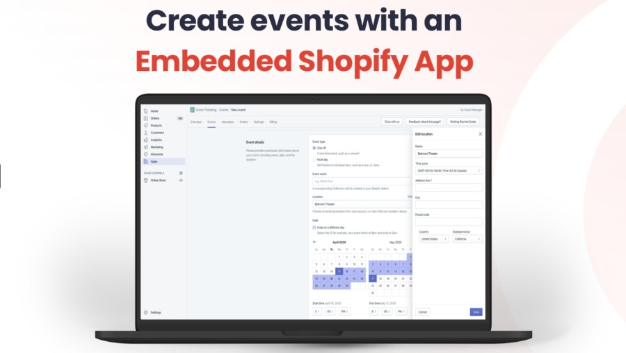 Event-Ticketing mit Shopify App