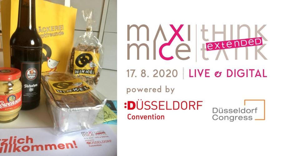 Präsentbox von MAXIMICE und Düsseldorf Convention