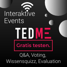 TEDME interaktives Votingtool