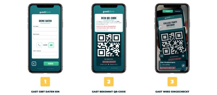 guestident: App für Kontaktverfolgung