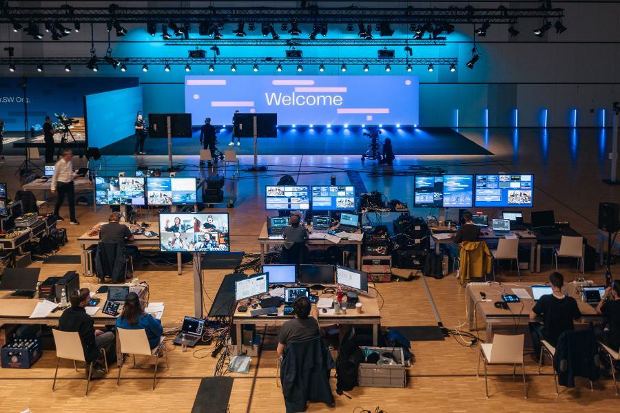 Tech Show der Spreefreunde zum Start der Volkswagen Car.Software-Organisation (Foto: Robert Schlesinger