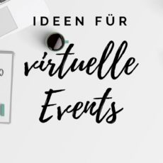 ultimative Ideen für virtuelle Events