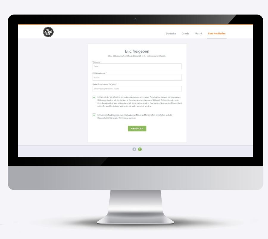 Datenschutz beim Online-Fotomosaik
