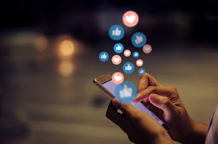 Ein Online-Fotomosaik kreiert viel Social-Media-Content von Events