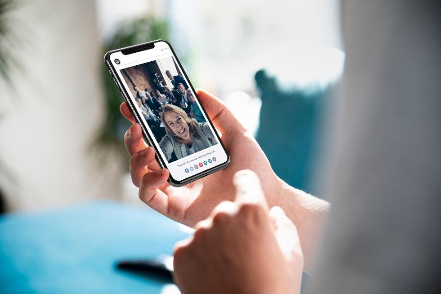 Fotoupload | Online Fotomosaik für virtuelle und hybride Events