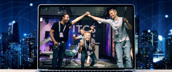 ITCS: digitale Messe auf der Plattform von Fusion Fairs