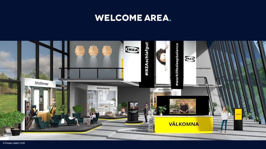 Der virtuelle Workshop von IKEA mit Proske Virtual Venue