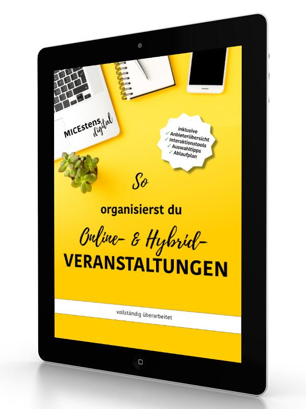 ebook: Online und Hybrid-Veranstaltungen organisieren