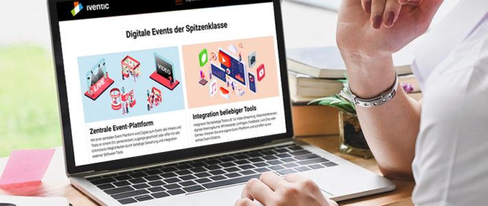 iventic: Event Management Software und Event-Plattform