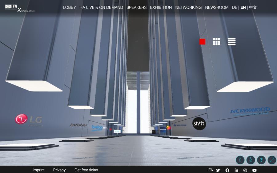 3D-Messewelten von rooom-EXPO-X | Beispiel IFA