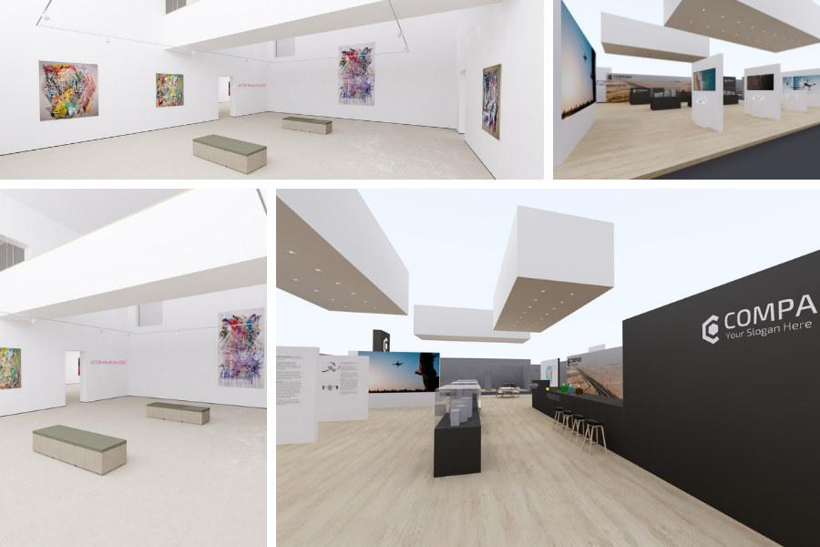 Ausstellungen und Messestände mit roomskale
