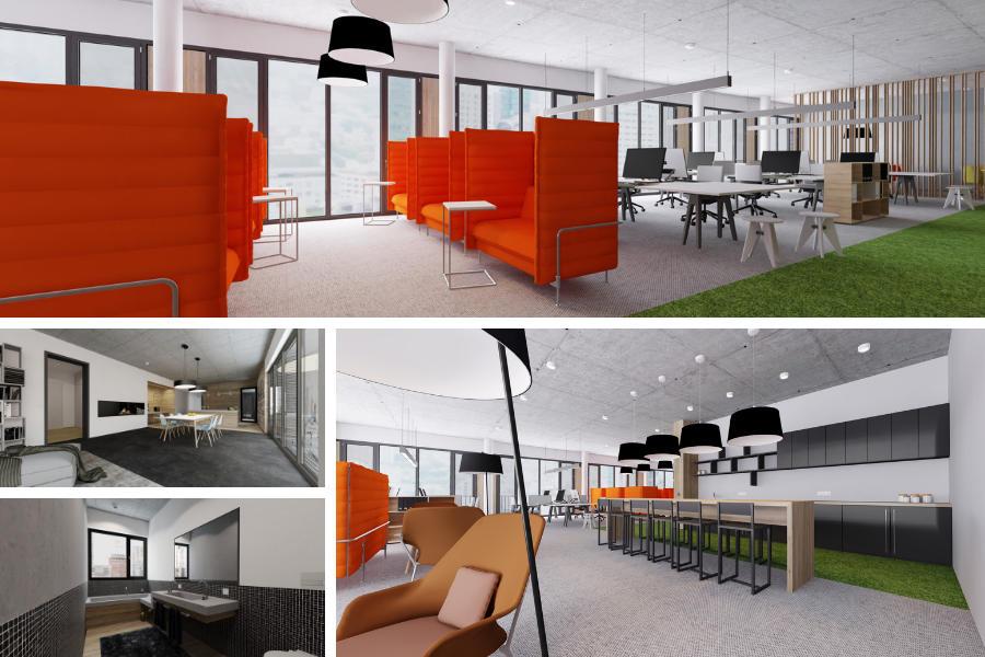 Büros und virtuelle Showrooms mit roomskale