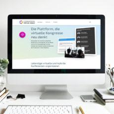Converia Virtual Venue für wissenschaftliche Konferenzen