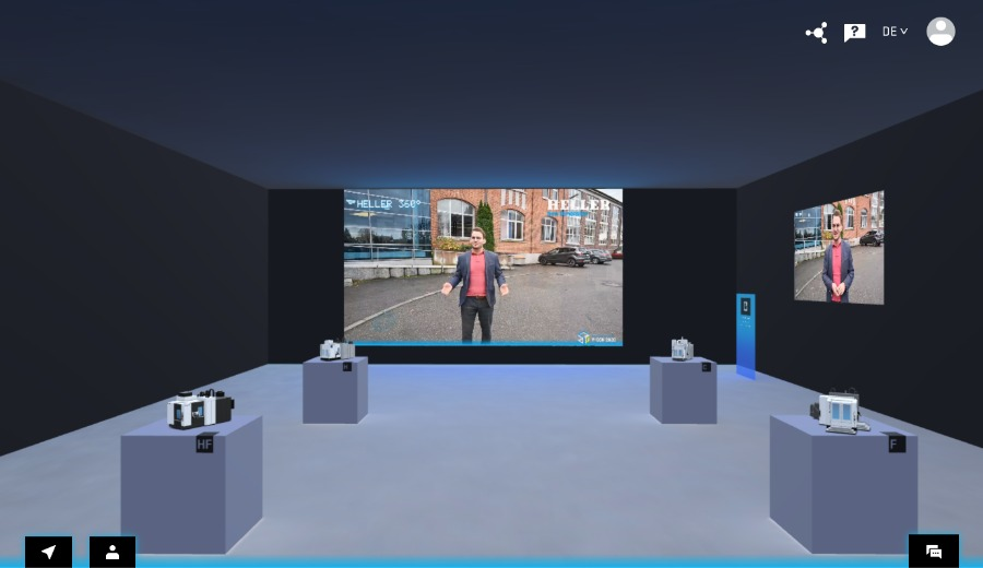 Online-Messe in 3D – inklusive Live-Streaming