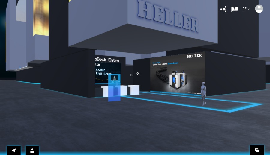 Online-Messen in 3D mit V-Messe