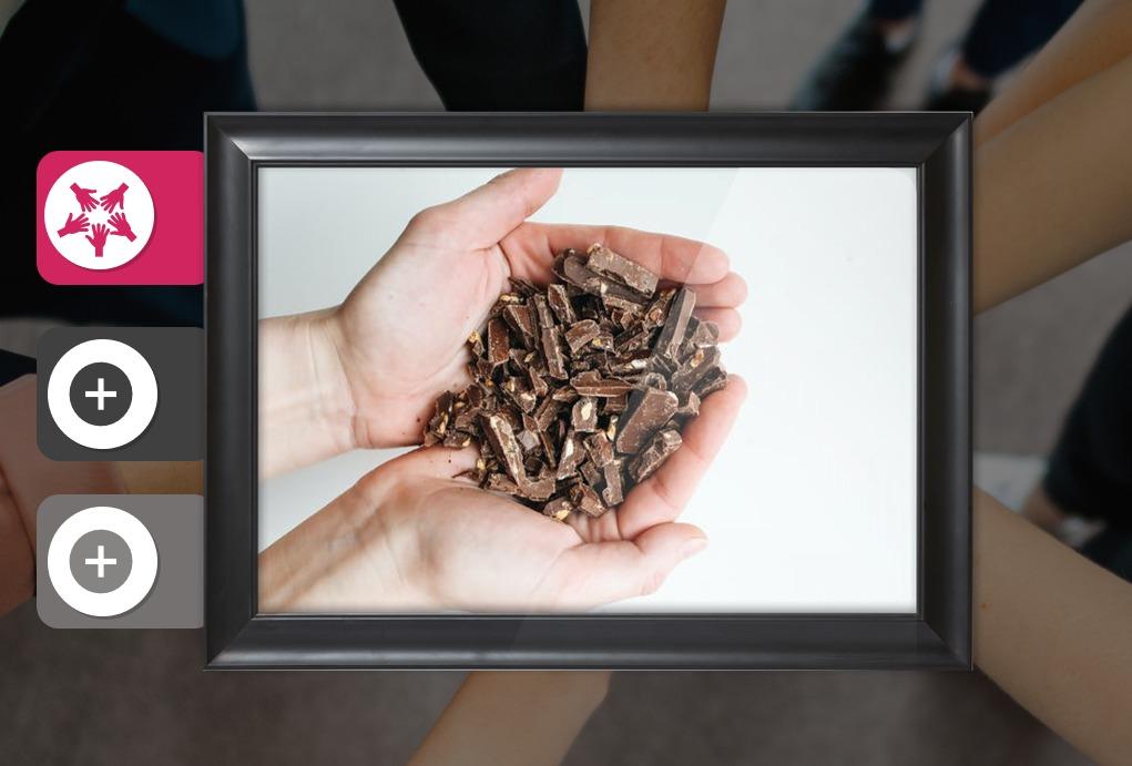 Schokoladen-Tasting beim virtuellen Event mit smartdigital24